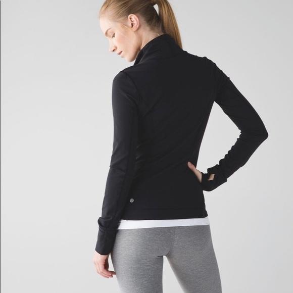 d0aa45699 Lululemon Precision jacket, black